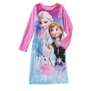 Girls' Disney's Frozen Flannel Sleep Gown Size 4/5